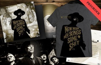 BUNDLE Me And That Man 'New Man, New Songs, Same Shit. Vol.1.' SIGNED limited color vinyl Preorder, NMNSSS t-shirt